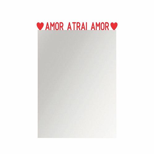 spelho Empoderamento - Amor atrai amor - Wall Done