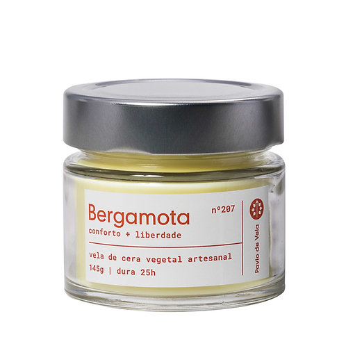 Vela Perfumada: Bergamota No.207 - 145g
