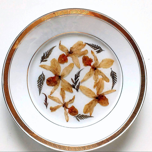 Prato de Porcelana Orquídea - 27500