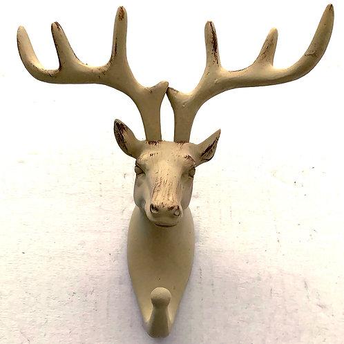 362 - Cabide Cervo em resina