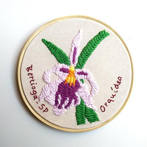 Quadro Quadro bastidor Orquídea 1