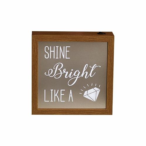 Quadro Luminoso Diamond - Wall Done
