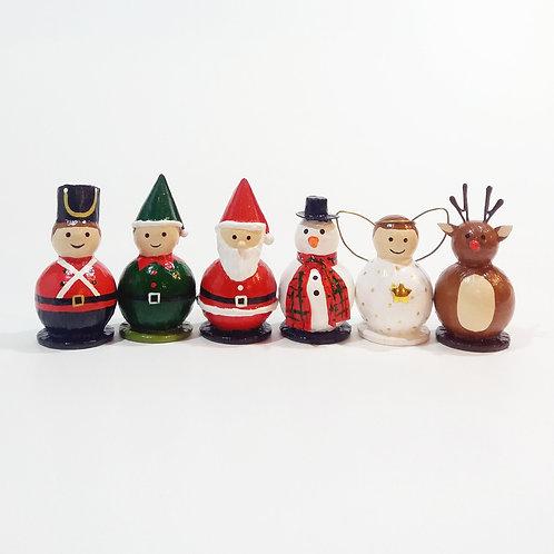 Decoração de Natal - Caixa com 6 unidades