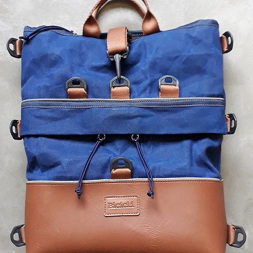 Bag6 - Mochila Alforge Tote Azul