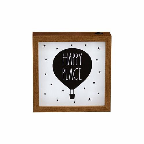 Quadro Luminoso - Happy Place