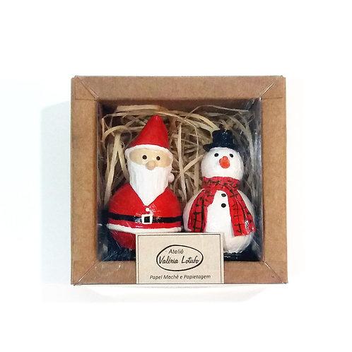 Decoração de Natal - Caixa com 2 unidades