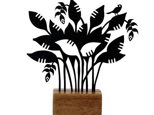 árvore helicônia grande - Eleonora Hoshino
