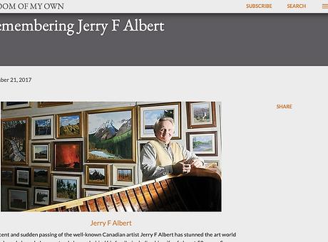 J.F.Albert Artist In My Room (full artic