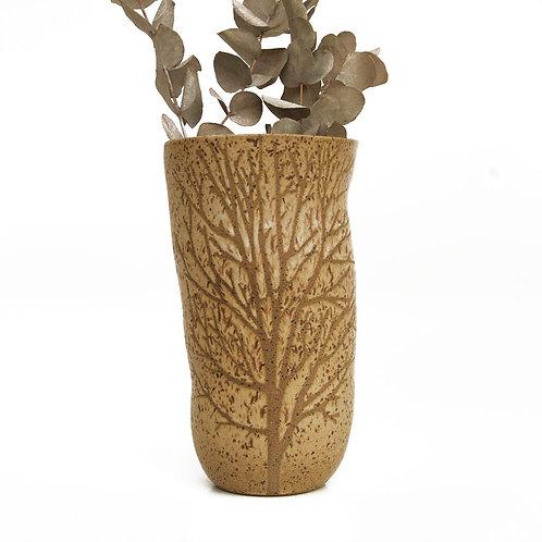Vaso Tree Torre Creme Somassae Pottery