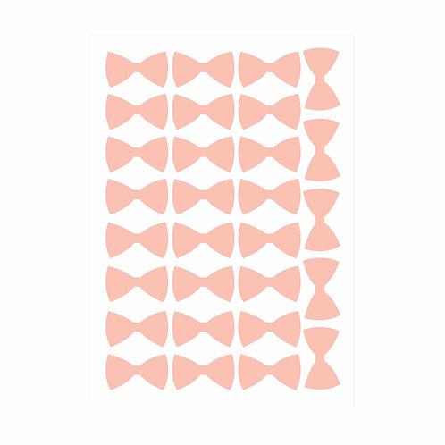 Adesivos de parede Lacinhos Rosa- Wall Done