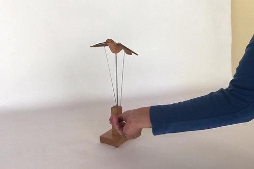 Escultura Gaivota manual