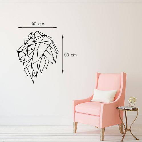 Leão face lateral - Santa Ana Design