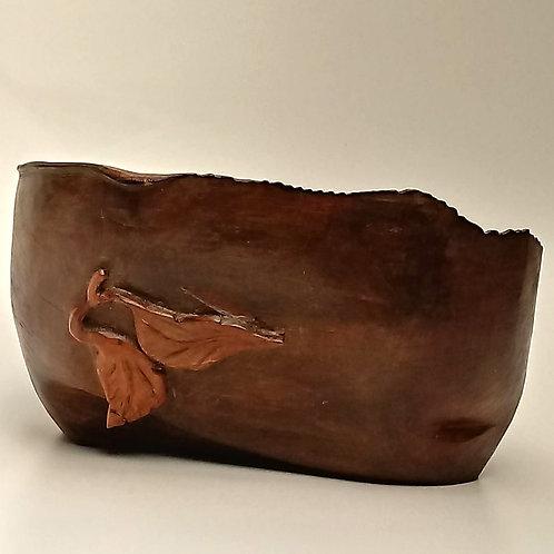 Centro de mesa em madeira  CMM0751- Marcos Quintas Designer