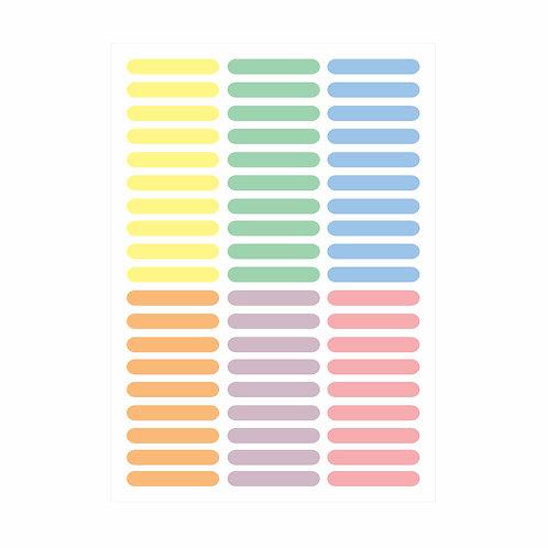 Adesivos de parede Granulados Candy Colors