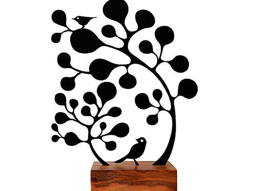 árvore almas gemeas pequena