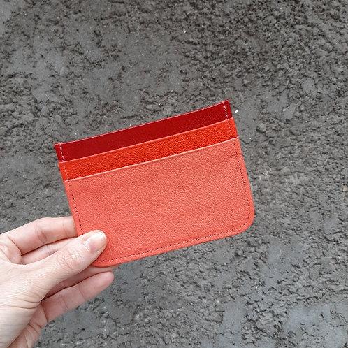 Porta cartão 3 cores
