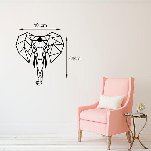 Elefante geometrico - Santa Ana Design