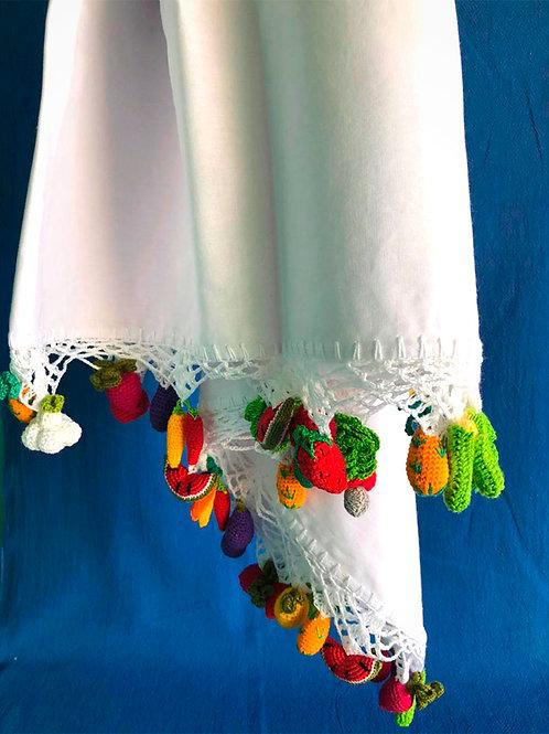 Toalha de Mesa Frutas e Legumes