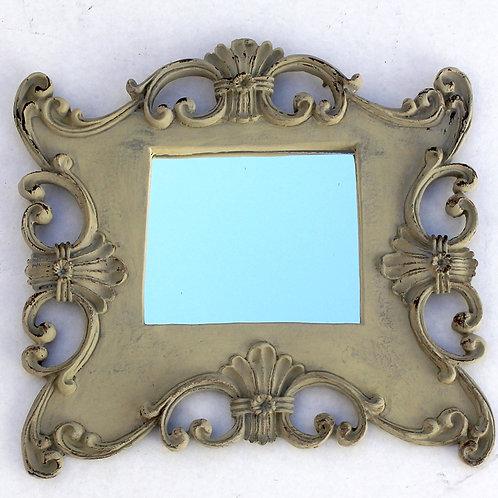 456 - moldura em resina espelhada