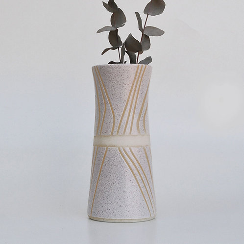 Vaso Stripe Blanc
