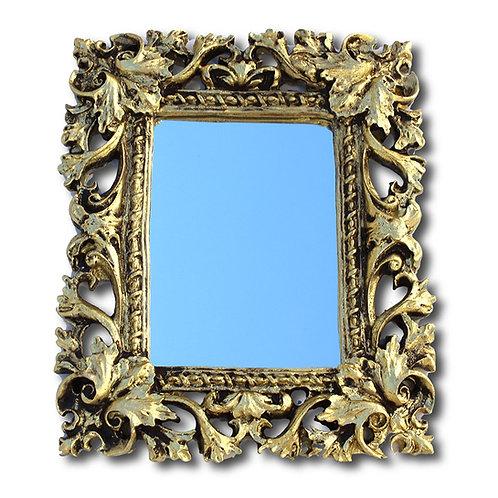 489 - Espelho moldura vazada