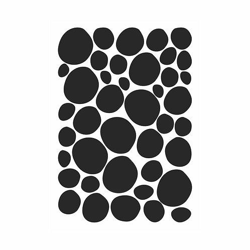 Adesivos de parede Bolas Irregulares