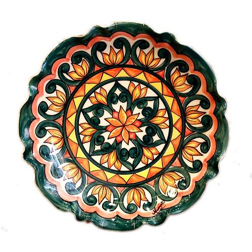 Prato cerâmica Talavera - Casa do Oleiro