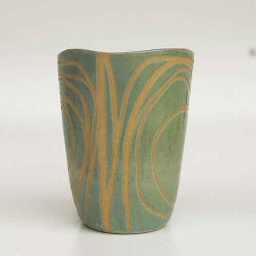 Vaso Nico Vert Somassae Pottery