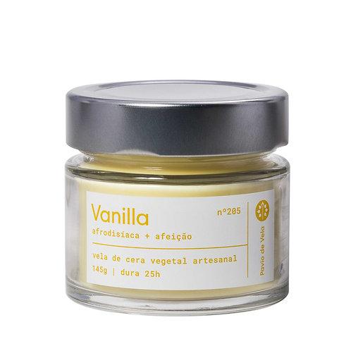 Vela Perfumada Pavio de Vela: Vanilla No.205 - 145g