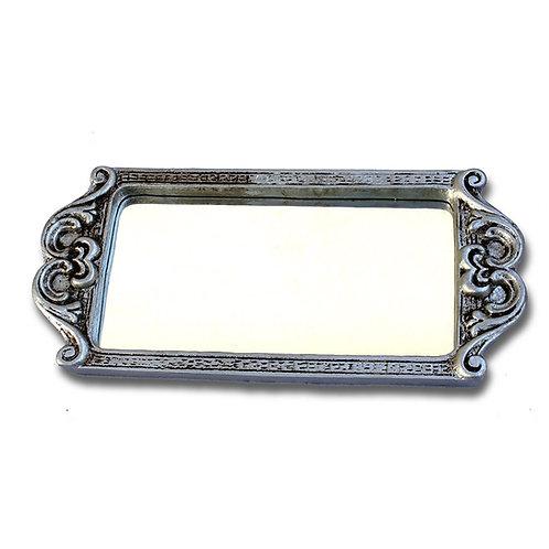 526 - Bandeja retangular com espelho