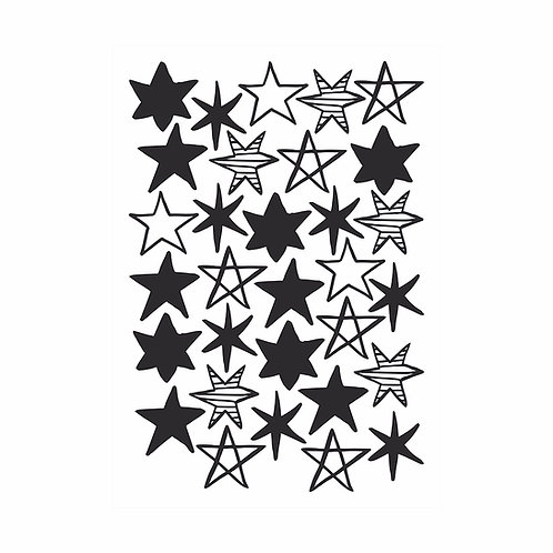Adesivo de parede Céu Estrelado - Wall Done