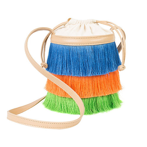 BUCKET BAG FRANJA TROPICÁLIA