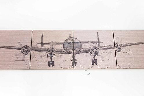 Cabeceira Avião  Constellation