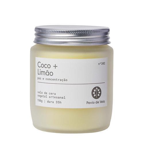 Vela Perfumada: Coco+Limao No.302 - 190g