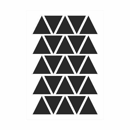Adesivos de parede triangulos