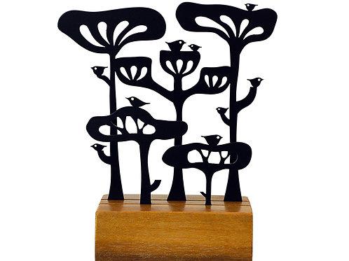 conjunto de árvores araucárias grande - Eleonora Hoshino