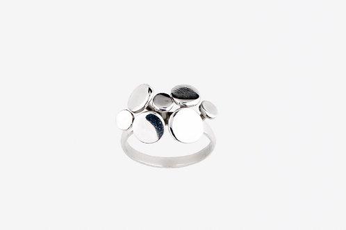 Anel Shimeji em prata - Thati Horta