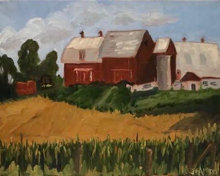 Big Red Barn #1043H