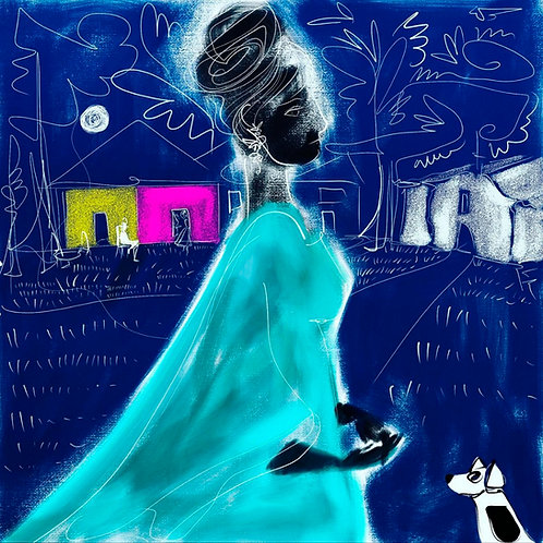 Noiva Azul - Cris Conde