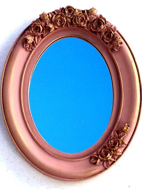 416 - moldura em resina espelhada