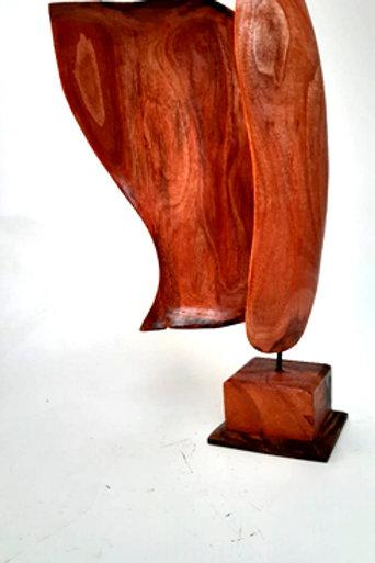 Centro de mesa em madeira 0666