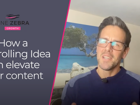 How a Controlling Idea can Dramatically Improve your Content