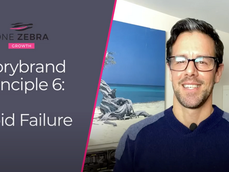 Storybrand principle 6: Avoid Failure