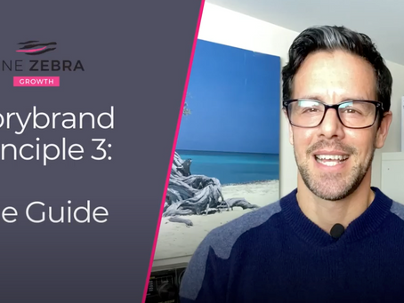 Storybrand principle 3: The Guide