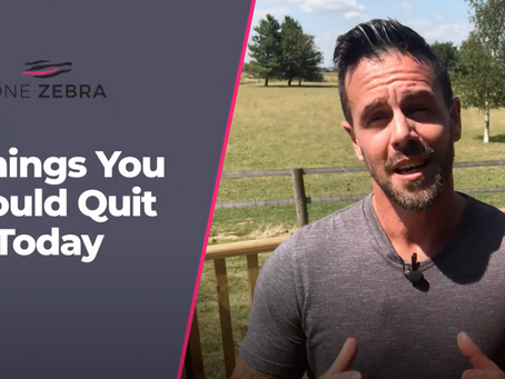7 Things You Should Quit Right Now