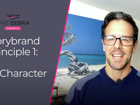 Storybrand principle 1: The Character