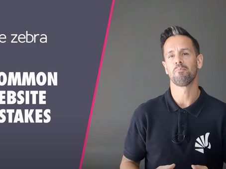 Video: 4 Common Website Mistakes