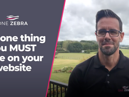 The one thing you must have on your website