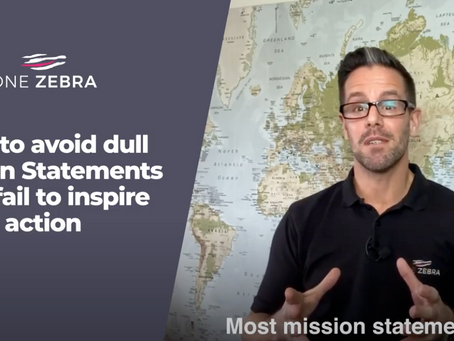 How to avoid a dull mission statement for your business