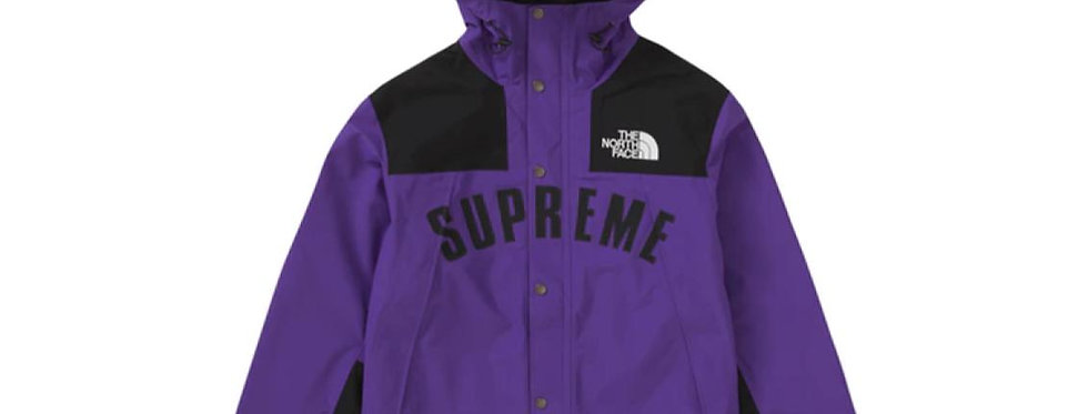 Supreme The North Face Arc Logo Mountain Parka Purple